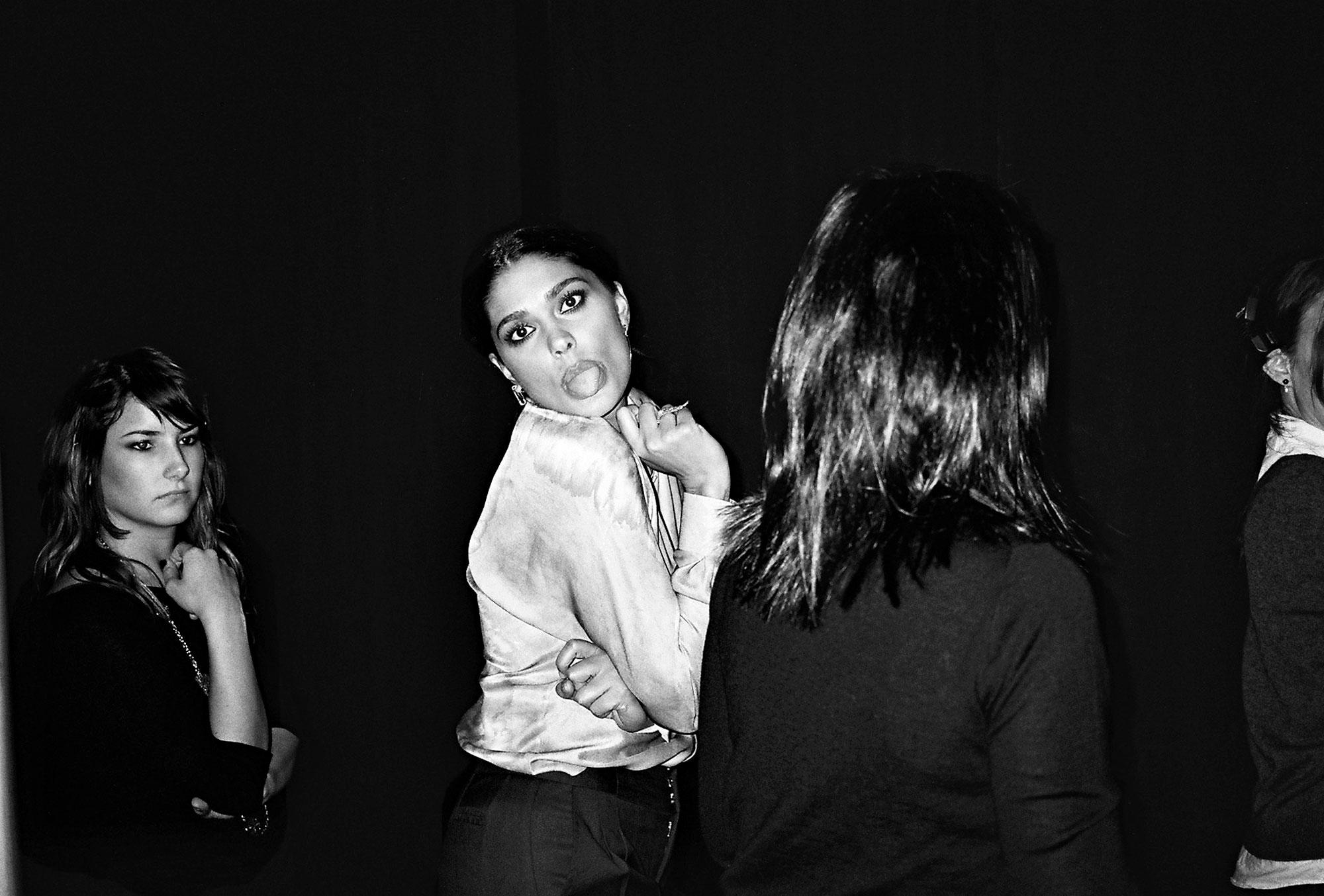 Rachel Roy, Fashion show, backstage, interview