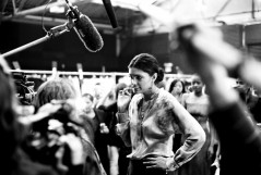Rachel Roy, Fashion show, backstage, interview